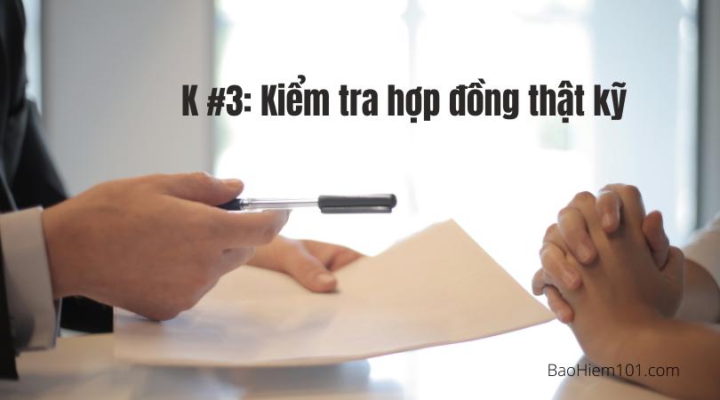 quy tắc 5k trong bảo hiểm k3