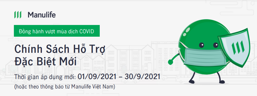 manulife hỗ trợ covid